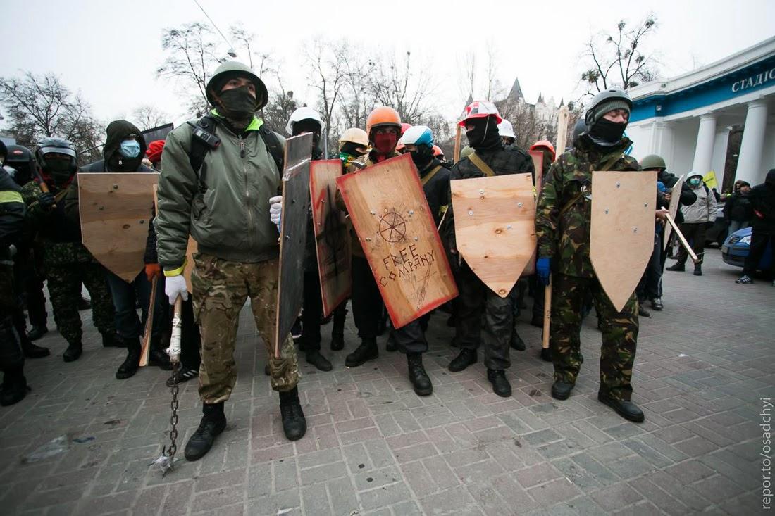 Оружие #ЕвроМайдана и бои в Киеве
