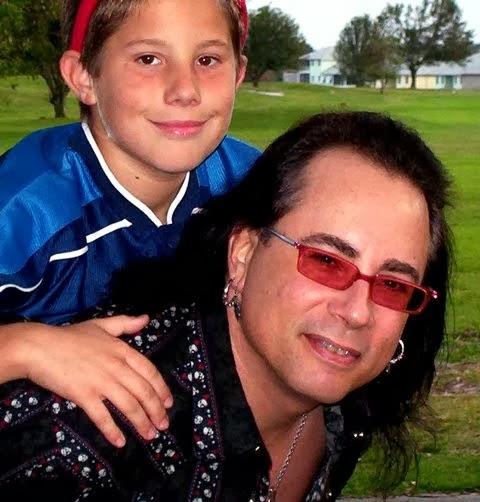 w/ my son, Jesse - 2004