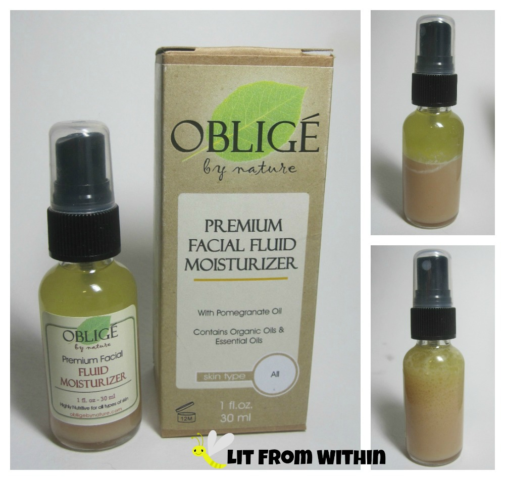Oblige by Nature Premium Facial Fluid Moisturizer