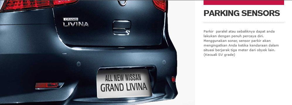 Spesifikasi All New Nissan Grand Livina