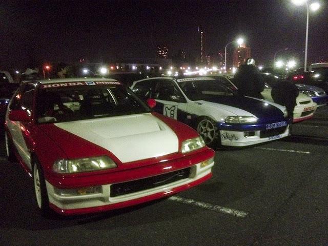 Nielegalne wyścigi, illegal street racing, Japonia, Kanjozoku