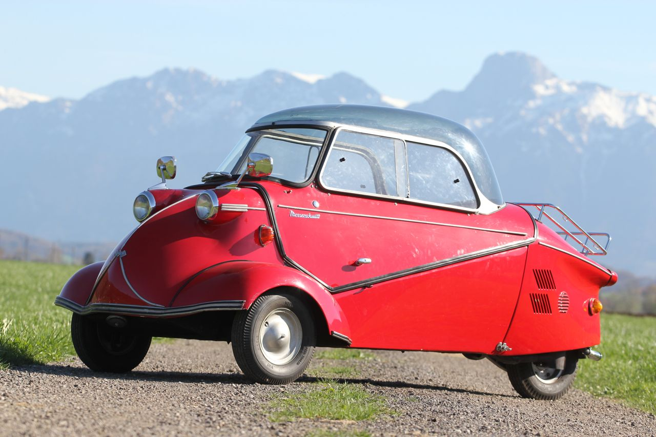 Messerschmitt KR 200 built