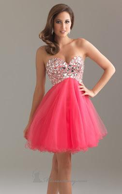 Moda actual en vestidos de noche