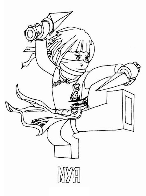 lego ninjago house coloring pages - photo#39
