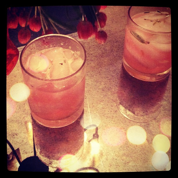 pink cocktails
