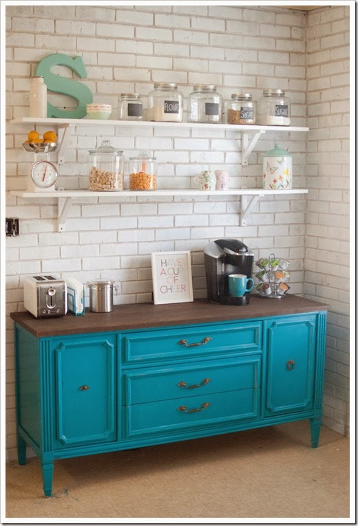 Coffee Bar Ideas ~ from caught in grace