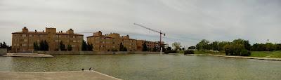 Lago Parque Goya Zaragoza