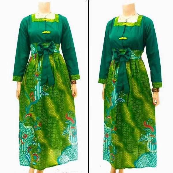 Baju Batik Dress Muslim