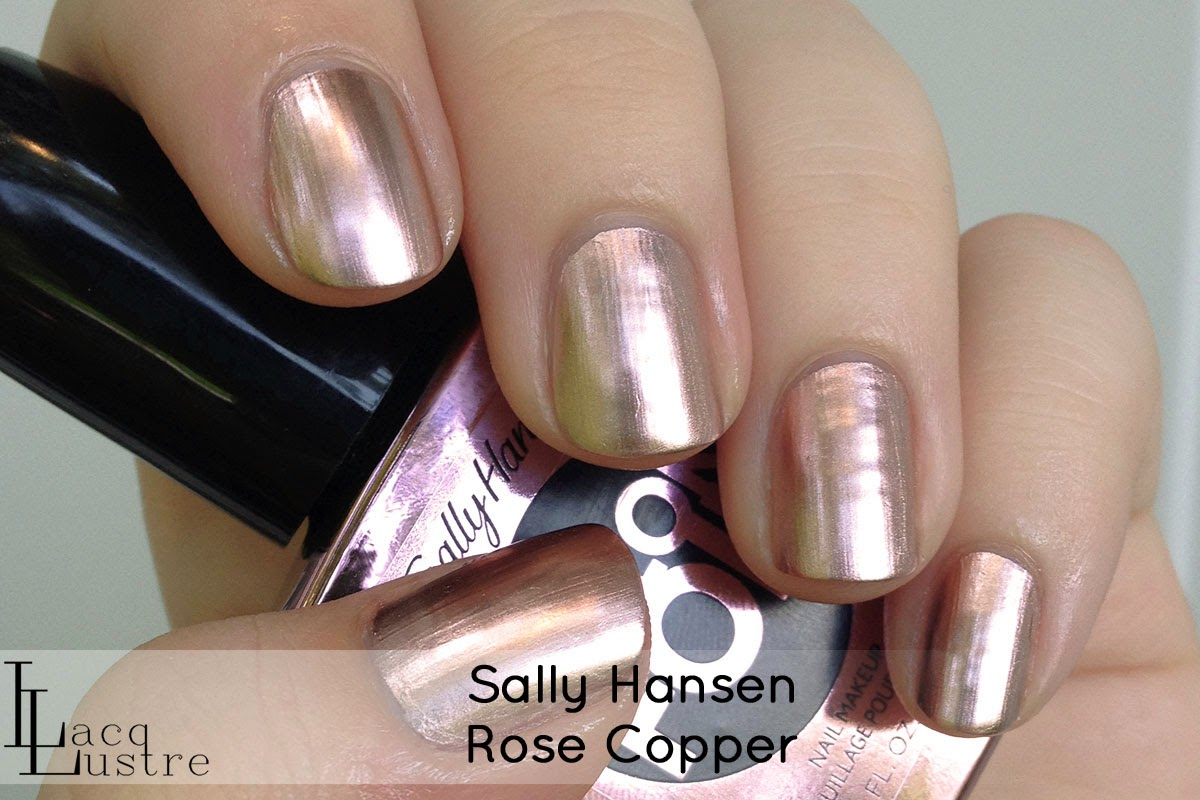 Sally Hansen Rose Copper swatch