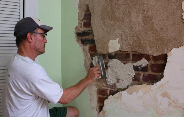 Restoring Plaster Walls Bringing Stephanie 39 S Room Back To