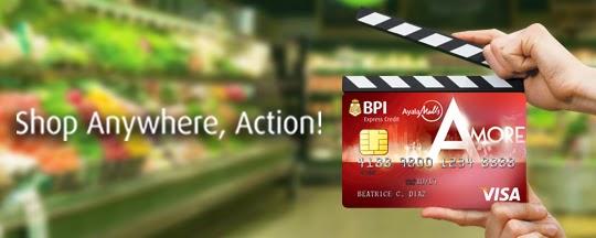BPI Credit Card Promo, BPI Amore Free Movies