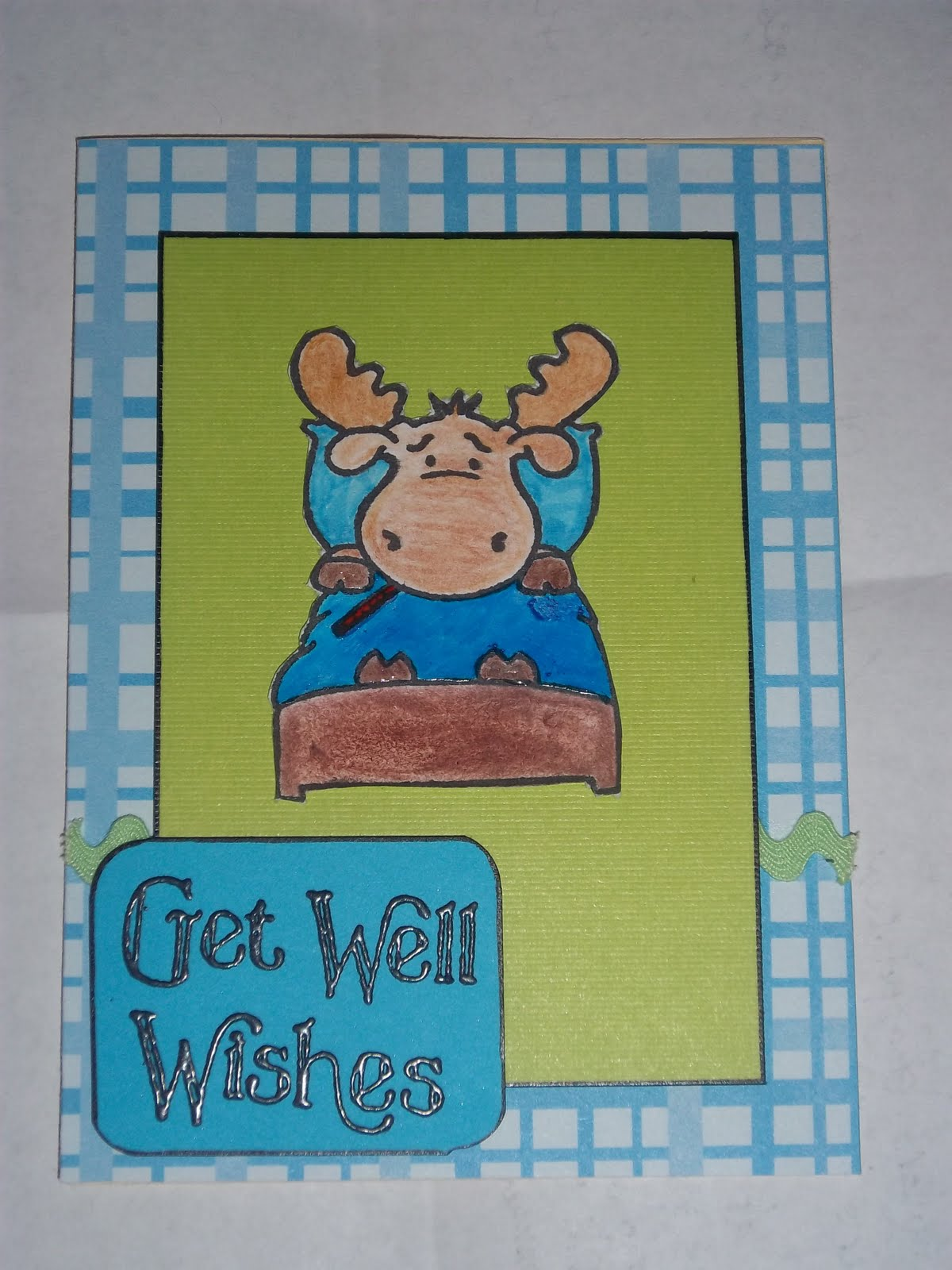 mama bear stonich's crafty ideas: get well soon card