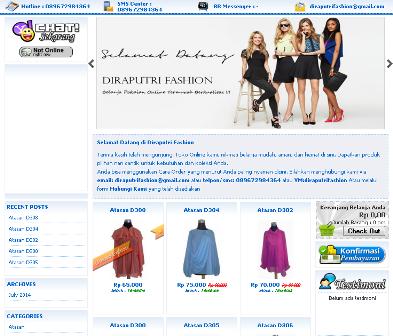 Sample Web Toko Online