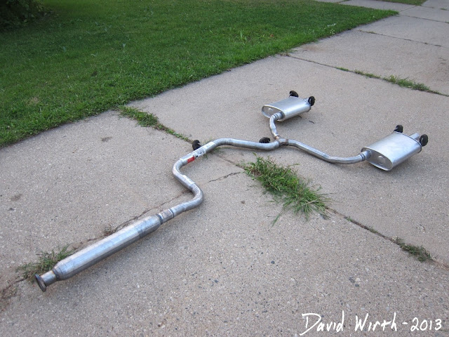 2005 pontiac grand prix exhaust, GM