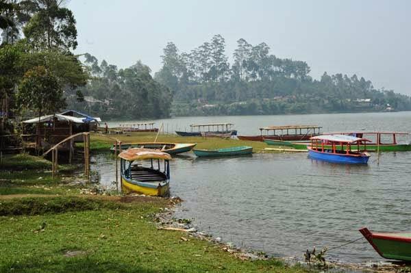 Wisata di Situ Cileunca Pangalengan Bandung