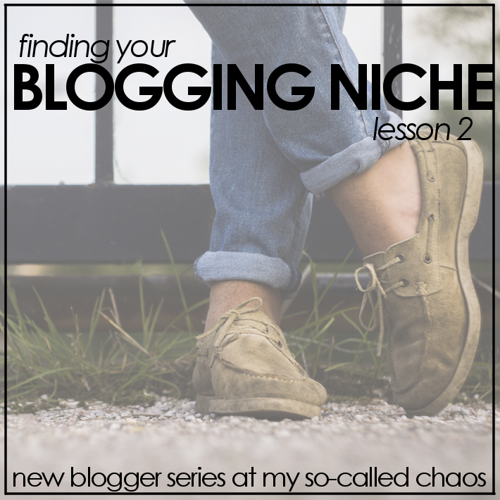 New Blogger Series: Finding Your Niche