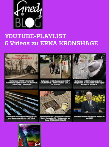 YouTube-Playlist: 6 Videos zu ERNA KRONSHAGE