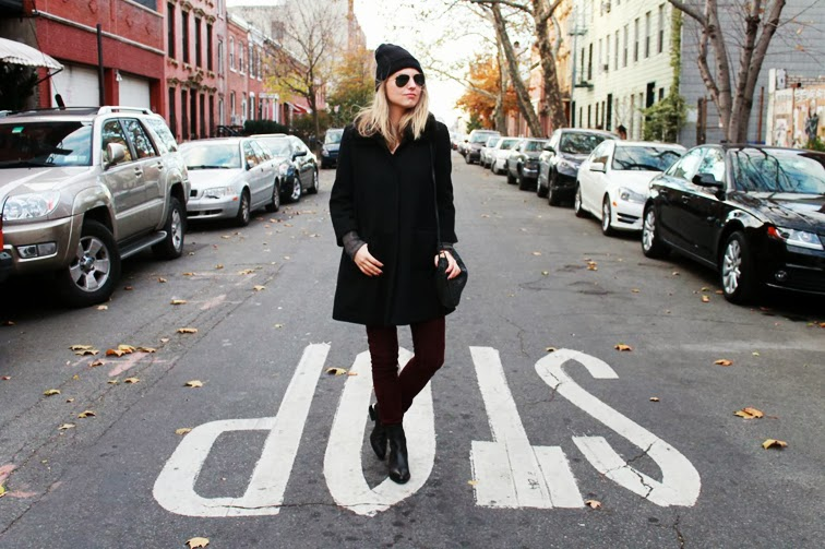 Williamsburg BK Street outerwear fall beanie