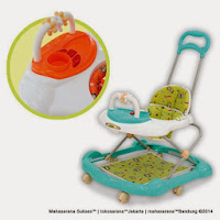 Family FB5519LD 2 in One Baby Walker