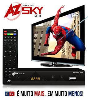 Azsky III HD Já funcionando no sat de keys 61° 28/11/2013. Azsky+skiii++by+snoop+eletronicos
