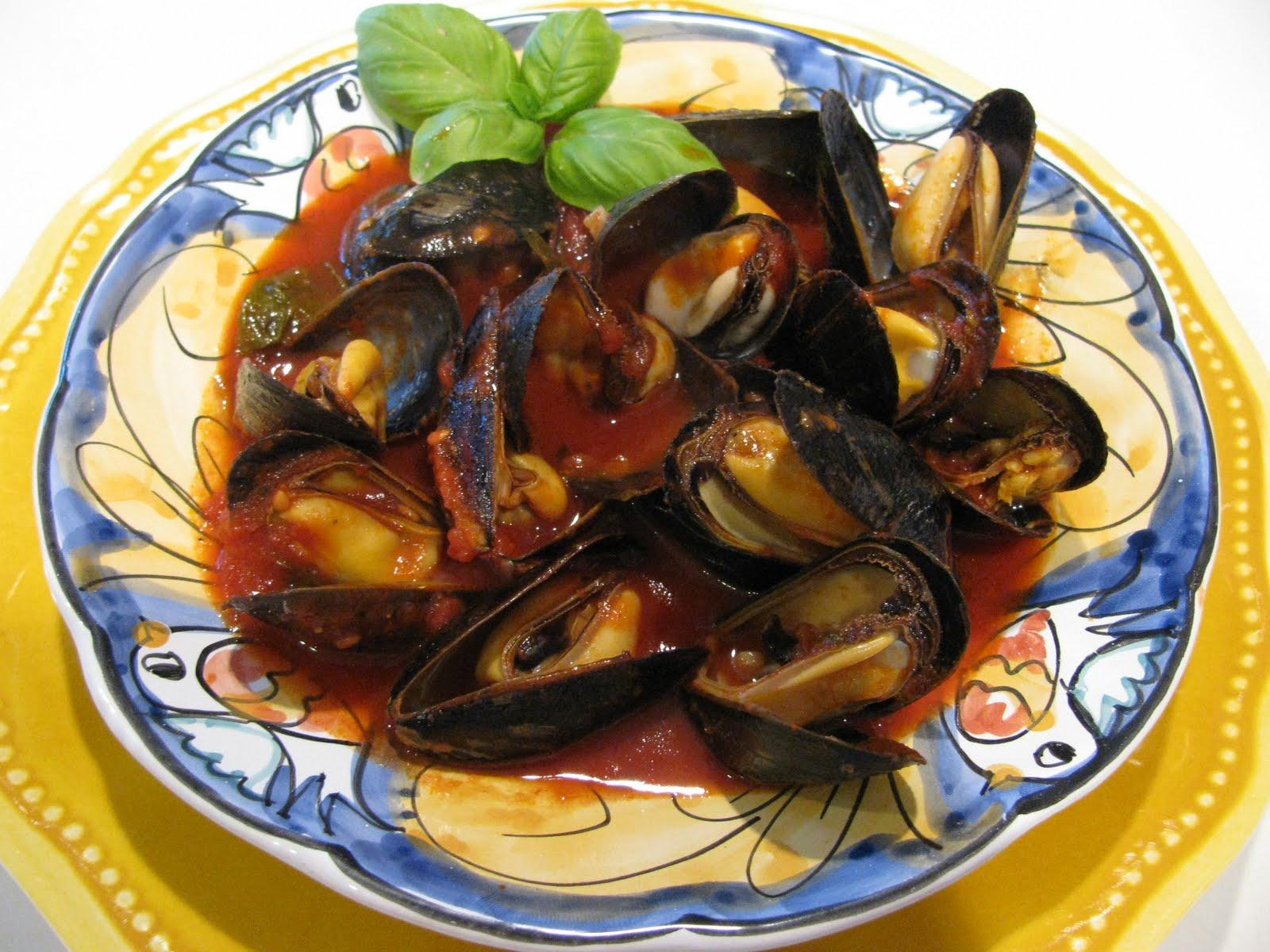 Mussels Marinara Recipe | Robert Irvine | Food Network