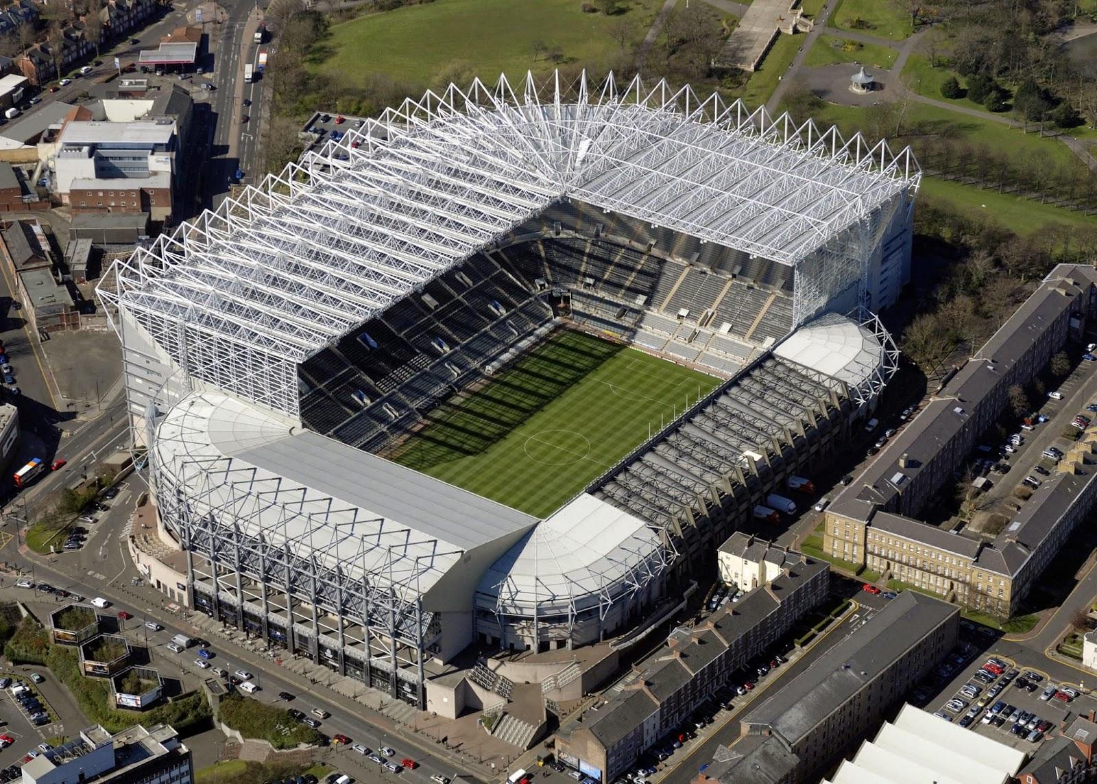 St James' Park Stadium_newcastle united