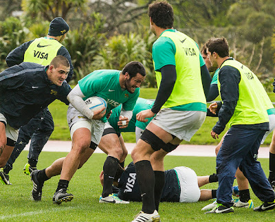 Juan Figallo se prepara para enfrentar a los All Blacks