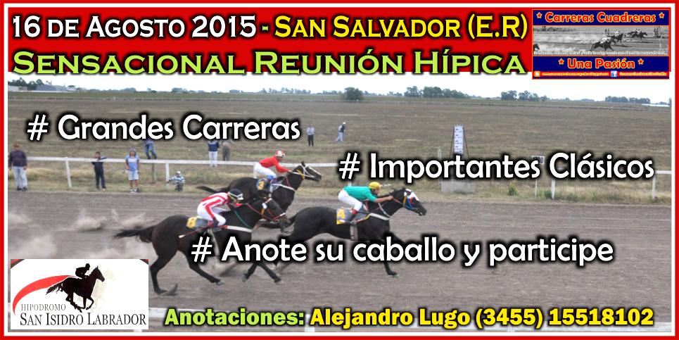 SAN SALVADOR - 16.08.2015