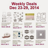 Items on Sale! Dec 23 to 29