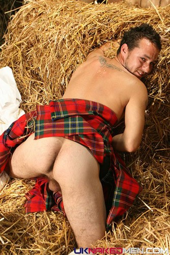 men in kilts with their dicks showing