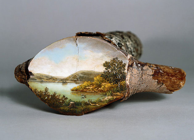 07-Log-Series-Alison-Moritsugu-Landscape-Painting-on-Tree-Logs-www-designstack-co