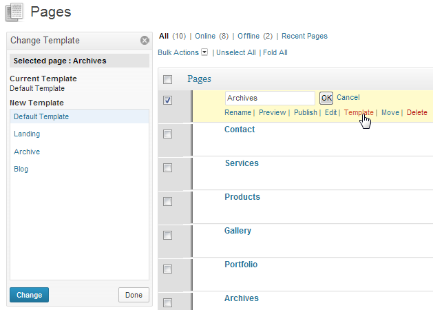 Advanced Page Manager – A New Way To Manage WordPress Pages