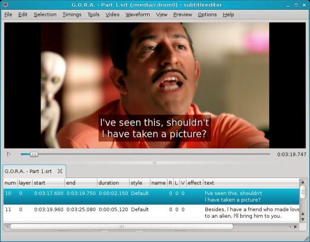 Cara Menambahkan Subtitle Kedalam Movie atau Video Kesukaan Anda