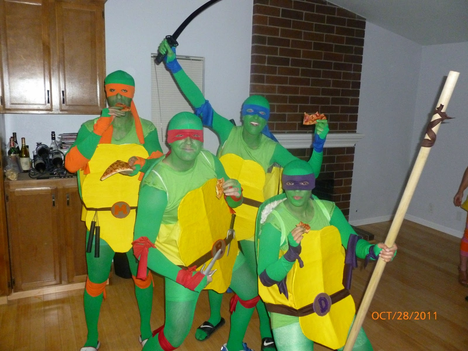 Ninja Turtles Halloween