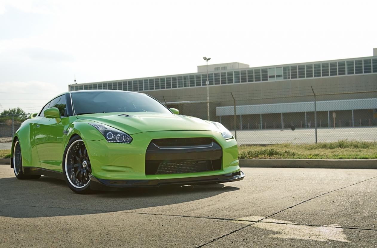 Download Autosmotosymasss: Nissan GT-R JoTech masss HRE Wheels