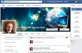 Marketing With Richard Dean at Facebook