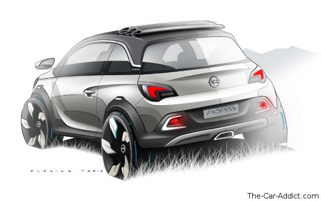 Opel ADAM ROCKS Concept at Geneva Motor Show