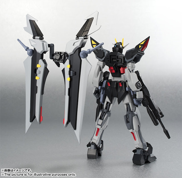 Robot Spirit Strike Noir Gundam Action Figure