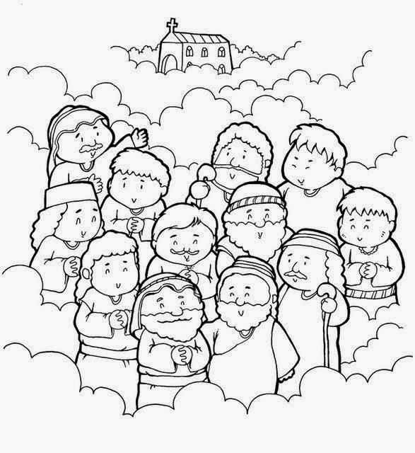 Imagenes Cristianas Para Colorear: Dibujos Para Colorear De Los Doce ...