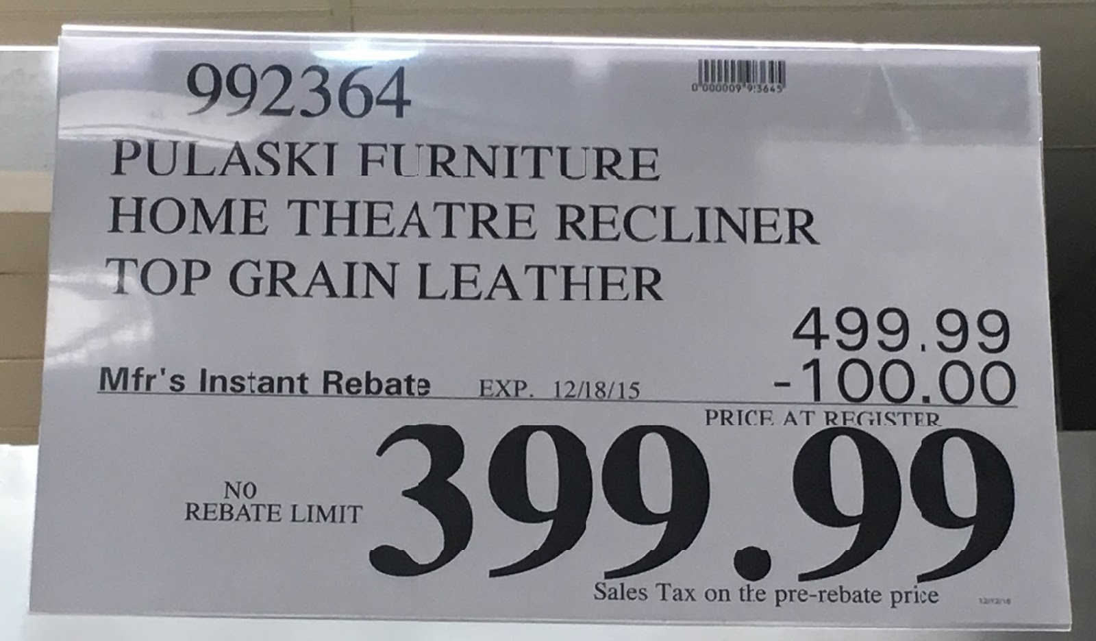 Deal for the Pulaski Power Recline Home Theater Recliner at Costco & Pulaski Furniture Leather Home Theater Power Recliner | Costco ... islam-shia.org