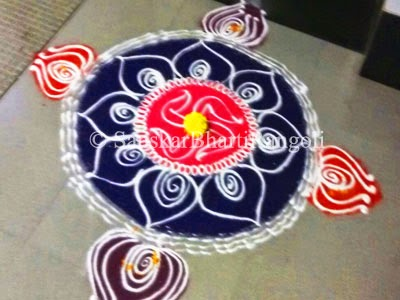 october 2014 sanskar bharti rangoli