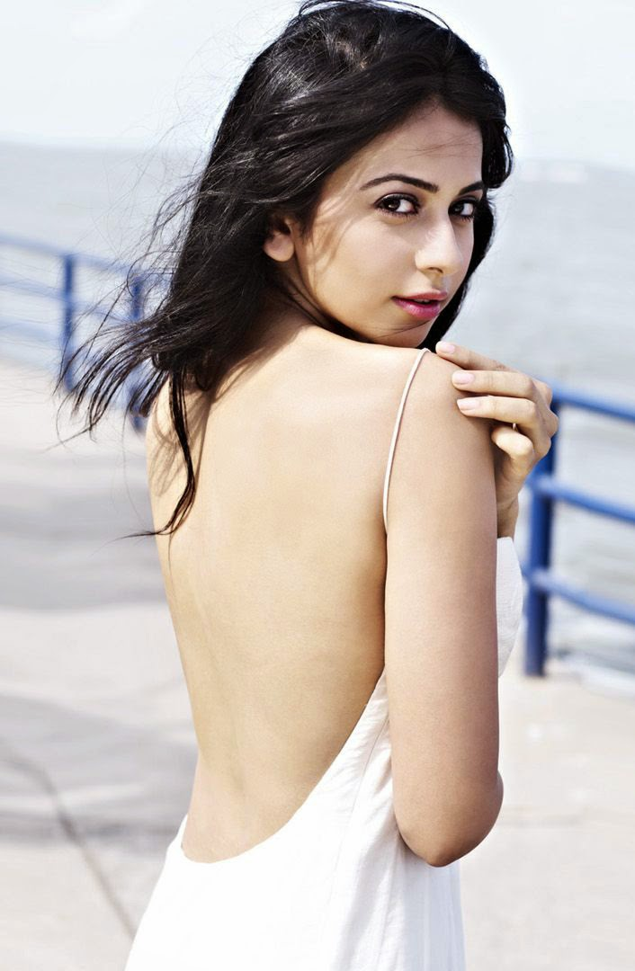 Rakul Preet Singh Unseen Latest Hot Backless dresses transparent hot pics hd