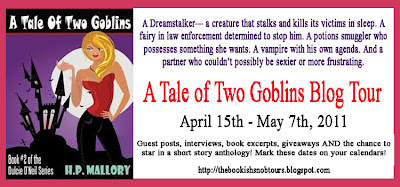 A Tale of Two Goblins Blog Tour: Interview & Giveaway with H.P. Mallory