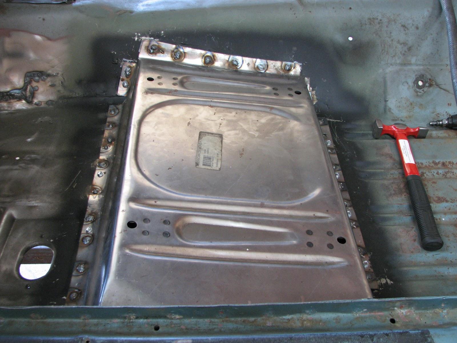 1968 mustang fastback resurrection floor repair part 3 for 1968 mustang floor pan replacement
