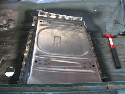 1968 mustang fastback resurrection floor repair part 3 driver 39 s side seat riser for 1967 mustang floor pan