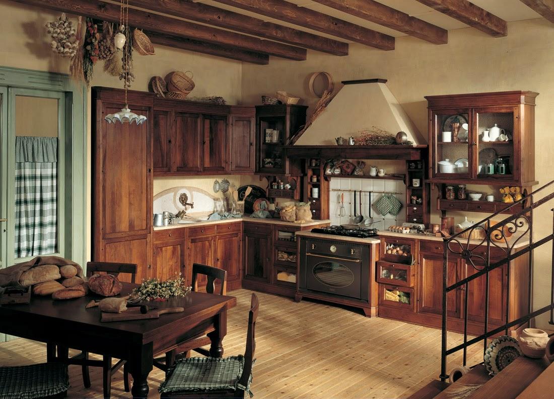 Meble do kuchni Kuchnia rustykalna -> Kuchnie Drewniane Rustykalne
