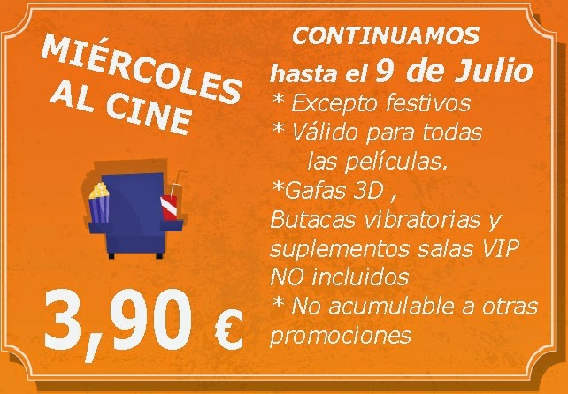 miércoles al cine en plaza elíptica de Vigo