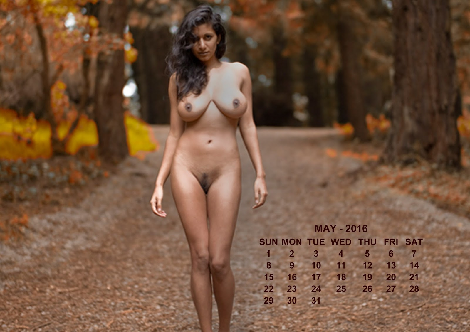 nude calendar ladies world's