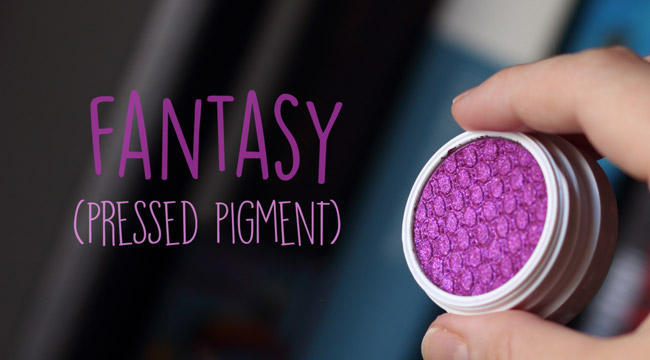 Supershock Fantasy Colourpop pressed pigment sombra