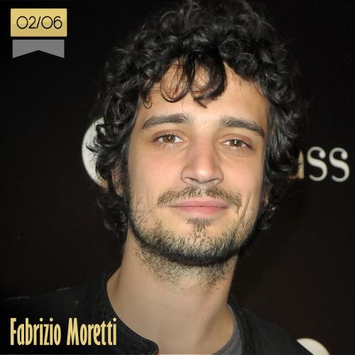 2 de junio | Fabrizio Moretti - @thestrokes | Info + vídeos
